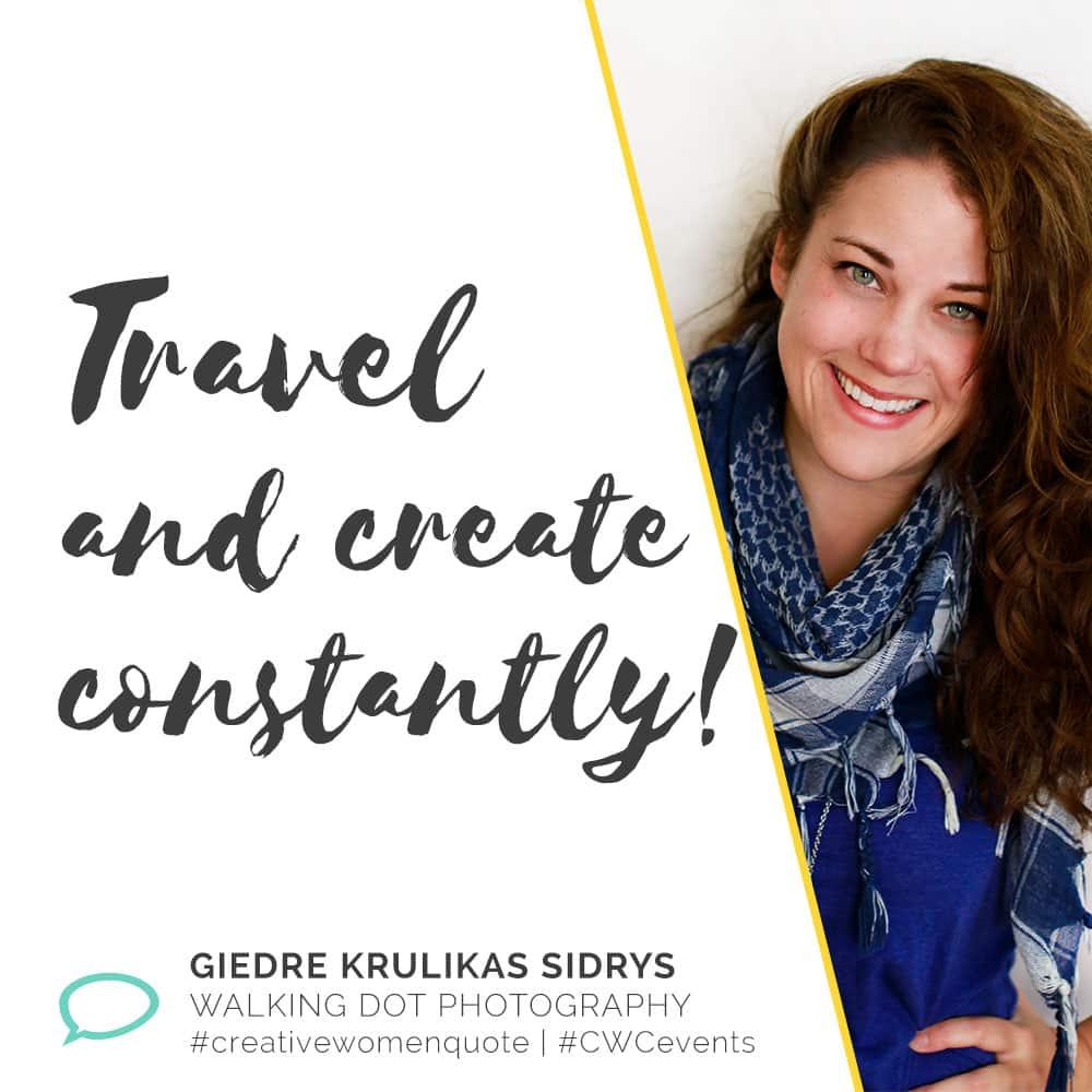 Creative Women Interview With Giedre Krulikas Sidrys