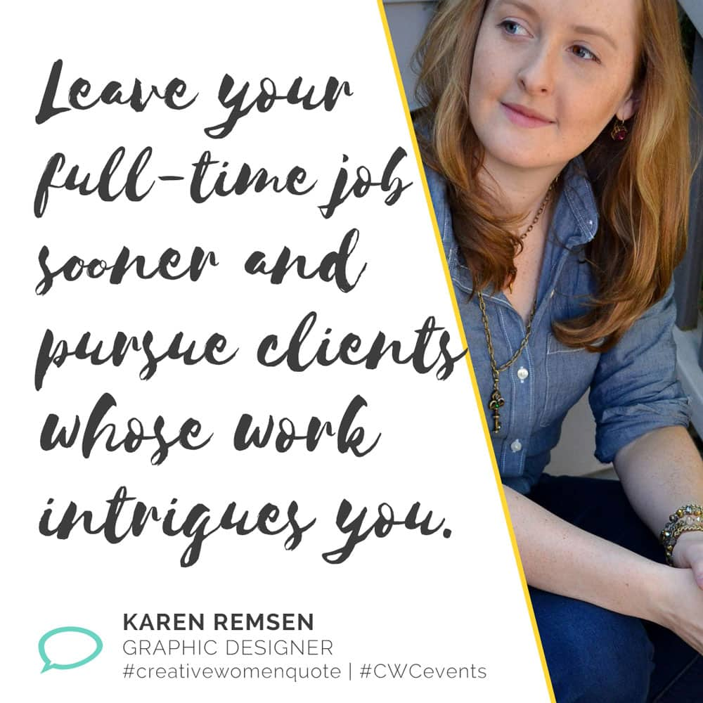 Creative Women Interview With Karen Remsen