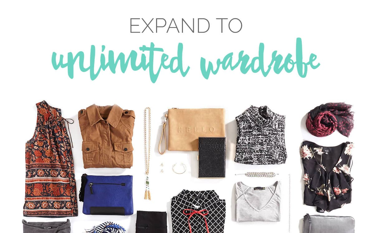 Expand to Unlimited Wardrobe