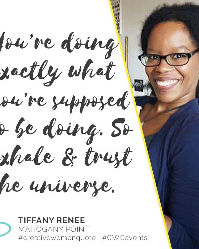 Creative Women Interview with Tiffany Renee