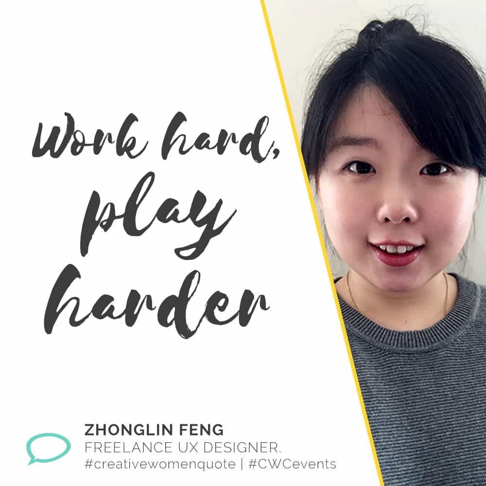 Creative Women Interview with Zhonglin Feng