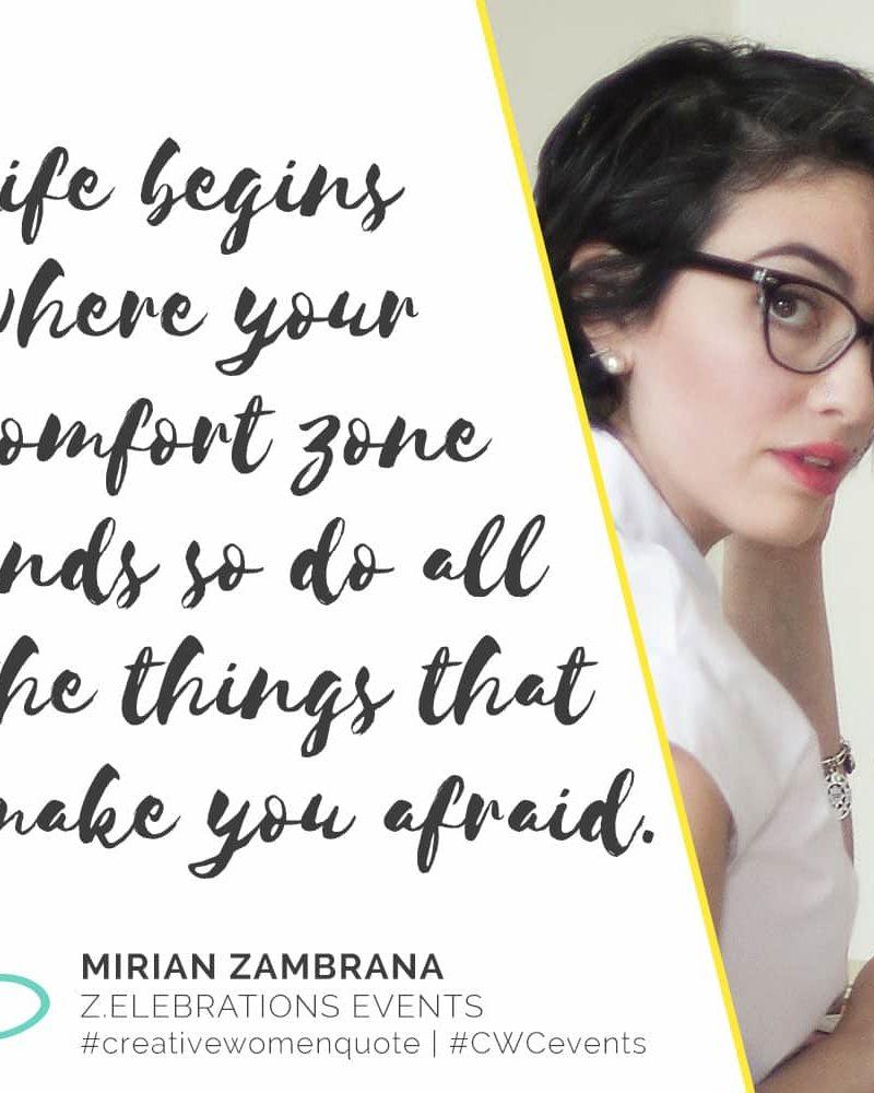 Creative Women Interview with Mirian Mirian Zambrana