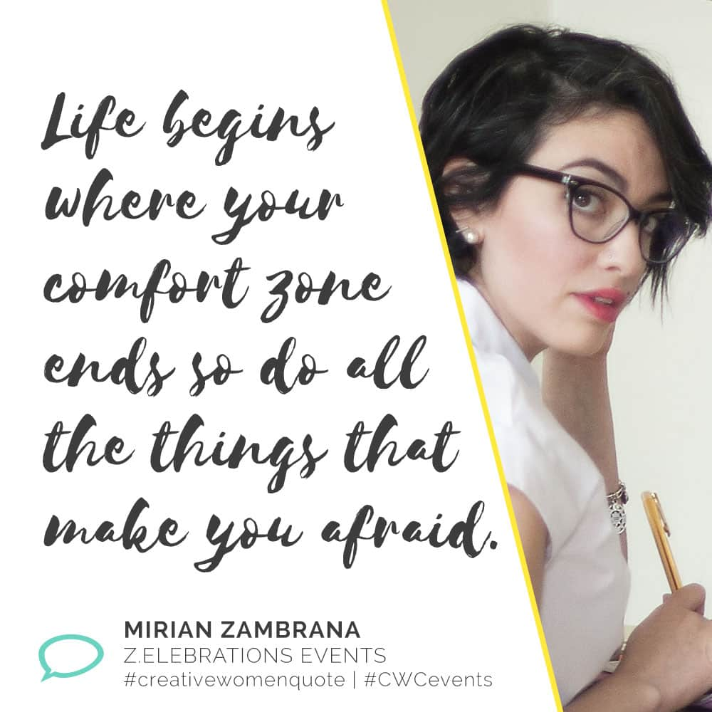 Creative Women Interview with Mirian Mirian Zambrana