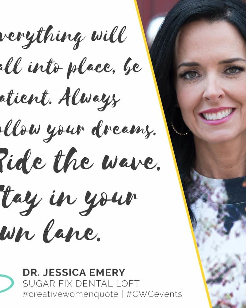 Creative Women Interview with Dr. Jessica Emery
