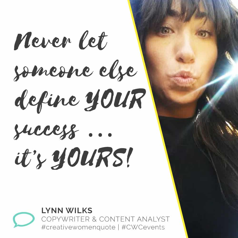 Creative Women Interview with Lynn Wilks
