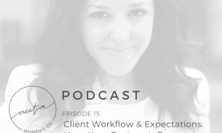 Episode #15: Client Workflow & Expectations: Have Your Business's Process in Place with Francesca Ragucci