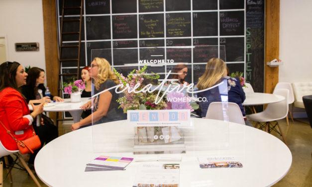 Chicago Creative Speed Mentoring Event 2018