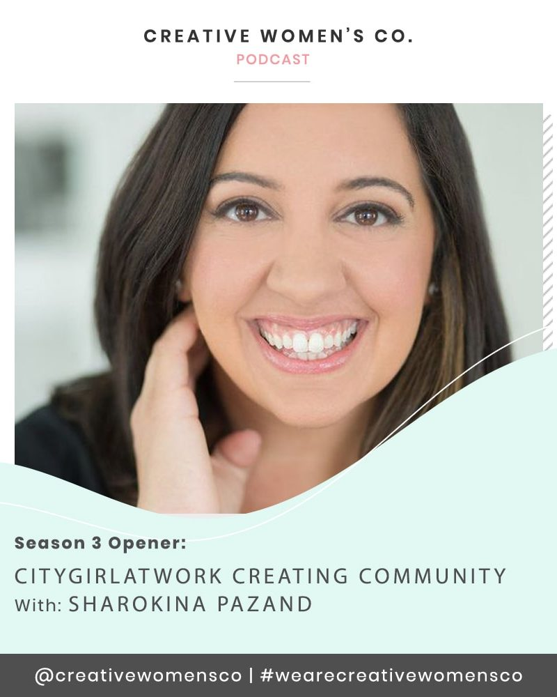 Episode #21: Creating Community with Sharokina Pazand